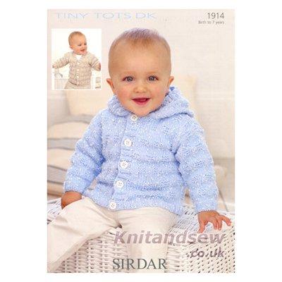 Sirdar Tiny Tots Dk Knitting Pattern 1914 Amazon Kitchen Home