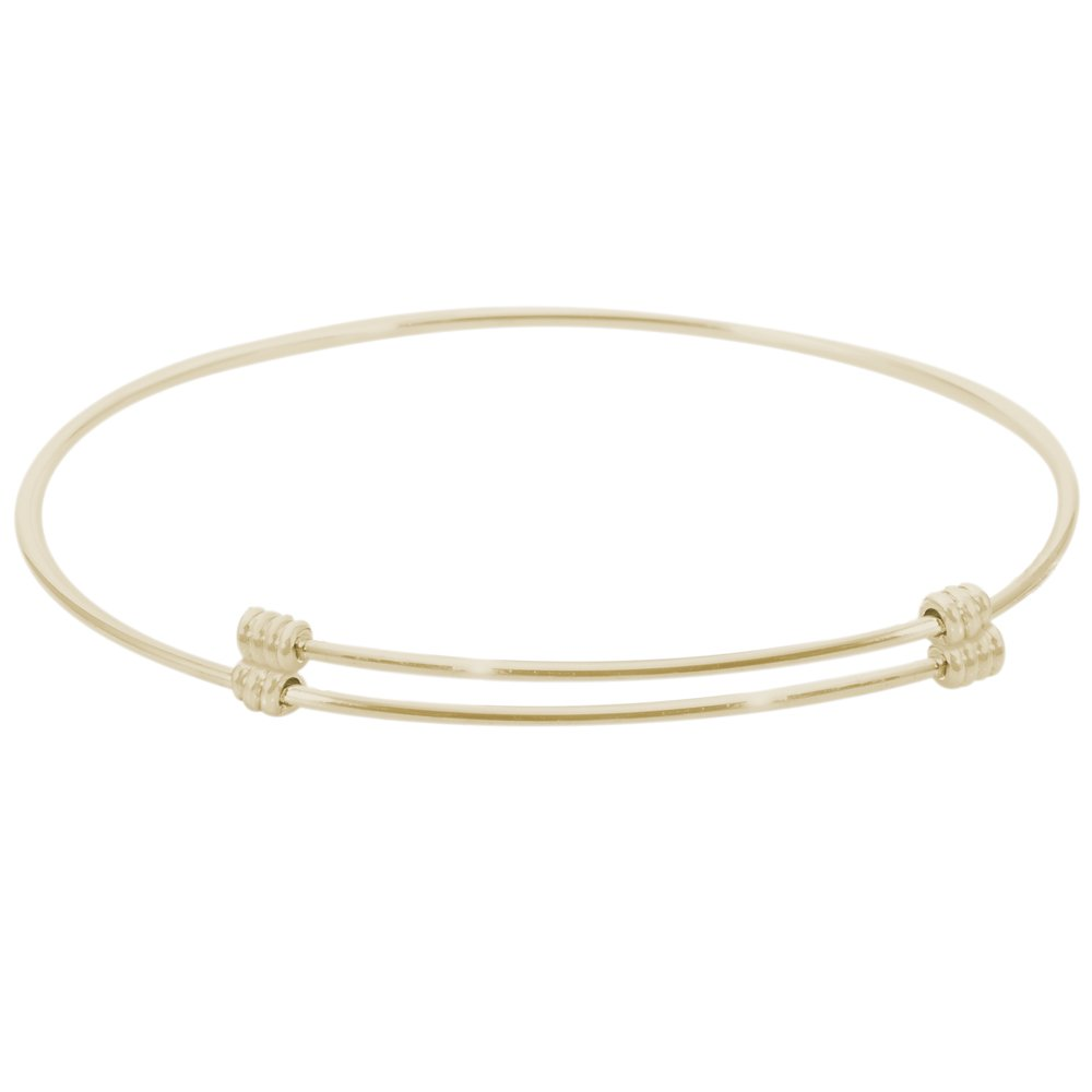 Rembrandt 'Alluring' Expandable Bangle, 14K Yellow Gold