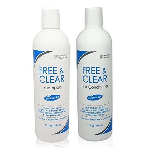 Free Clear Set Includes Shampoo 12 Oz And Conditioner 12 Oz One Each