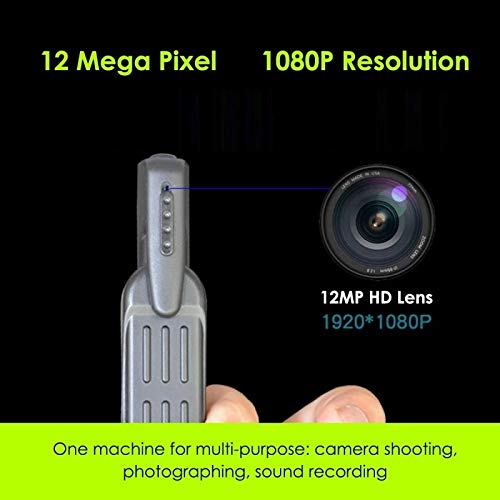 NDHENG Mini Spy Camera 1080P Hidden Camera   Portable Small HD Nanny Cam with Night Vision and Motion Detection   Perfect Indoor Covert Security Camera for Home and Office