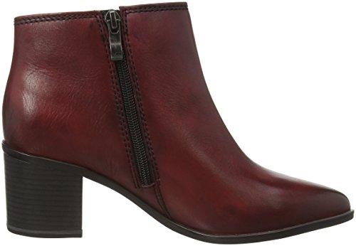 Marco Tozzi Premio 25017 Damen Chelsea Boots Rot (Vino Antic 505)
