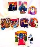 Mcdonalds - Aladdin Complete Happy Meal Set - 1996