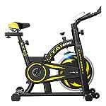 419Gdl0va5L. SS150 Bici da Spinning Palestra Biciclette Ultra Silenzioso Indoor Bikes Attrezzature for Il Fitness Allenamento con Display LCD (Color : Black, Size : 110 * 51 * 115cm)