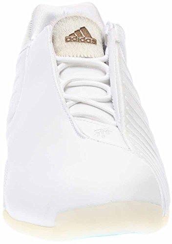 Adidas Mens T-mac 3 Basketball Running Bianco / Running White / Blueglo 10,5 D (m) Us