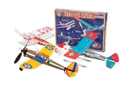 ToyPlaya Fabulous Flyer Kit, with 3 Classic Model Aircrafts