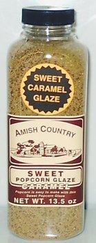 Troyer Amish Caramel Popcorn Glaze - 13.5 Ounces