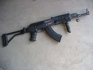 jg 0515t ak-47 ak47 full metal aeg airsoft electric gun(Airsoft Gun)