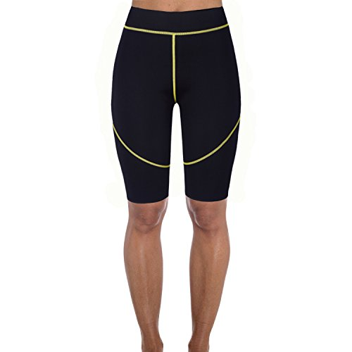 Men&Women's Heat Neoprene Shorts Hot Sweat Pants Thigh Slimmer Fat Burner Exercise Sauna Suit Shapewear