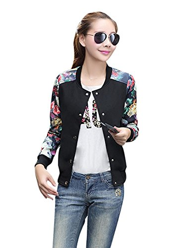 Girls Quilted Bomber Jacket - 2