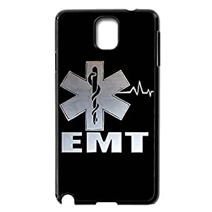 Innovation Design EMT EMS Medical Rescue Hard Shell Phone Case Lightweight Printed Case Cover for Samsung Galaxy Note 3 N9000 Black 022610
