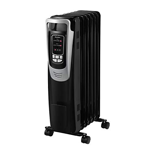 PELONIS Electric 1500W Oil Filled Radiator Heater with Safety Protection, LED Display, 3 Heat Settings and Five…