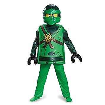 Lego Ninjago 98099L Ninjago Lloyd Disfraz Deluxe S (4-6 J ...