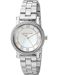 Michael Kors Womens Norie Silver-Tone Watch MK3557