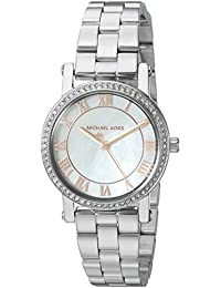 Michael Kors Women's 'Norie' Quartz Stainless Steel Casual Watch, Color:Silver-Toned (Model: MK3557)