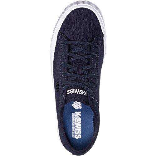 Mixte Bridgeport Sneakers Wei Bleu Navy Basses EU 43 White Adulte K II Swiss 401 xXq65AqR
