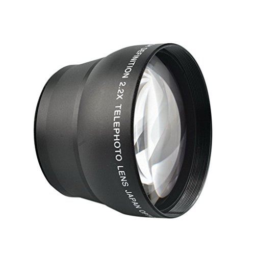 Includes Lens//Filter Adapter Optics 2.2X High Grade Telephoto Conversion Lens for Canon PowerShot G7 X