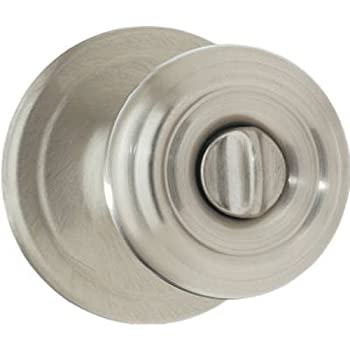 Kwikset Cameron Entry Knob Featuring Smartkey In Satin