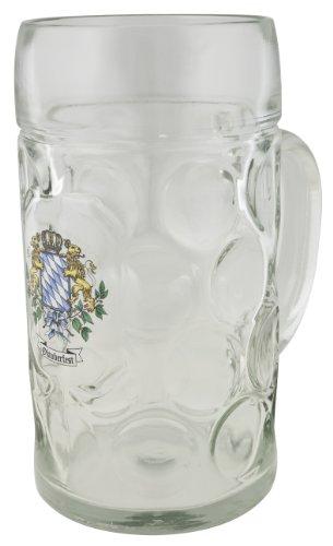 (M. Cornell Oktoberfest Isar Beer Mug, 1.0-Liter)
