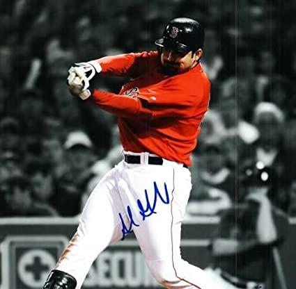 c8f8212d3 Image Unavailable. Image not available for. Color  Adrian Gonzalez Signed Boston  Red Sox ...