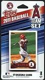 2011 Anaheim Angels Topps Factory Sealed Baseball 17 Card Team Set