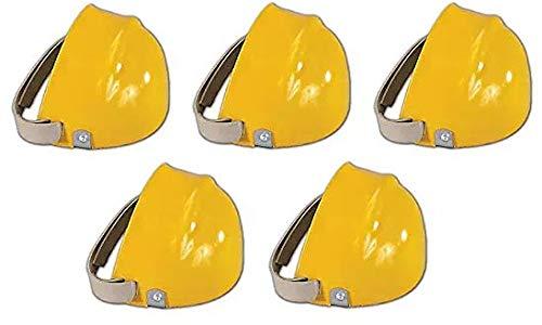 Osborne OG-3601 Osborn Pro-Tek-to ABS Plastic Shoe Caps, 6, Yellow, Men's (Fivе Расk)
