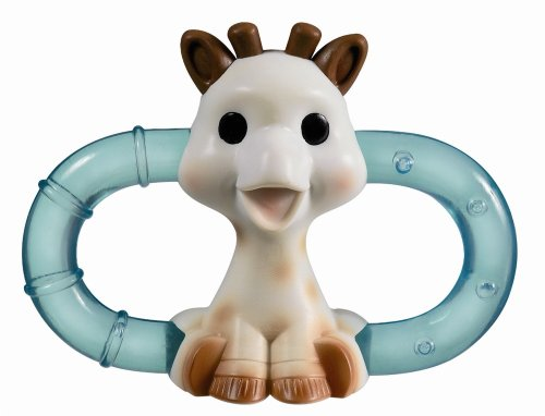Sophie The Giraffe Double Ice Bite Teething Ring in Blister Pack (Multicoloured)