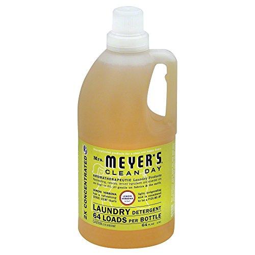 Mrs. Meyer's Clean Day Laundry Detergent, Lemon Verbena, 64 oz, 64 loads-2 pk