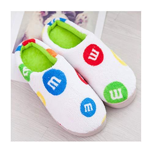 37 B Dimensioni Donna Cotone Pantofole A colore In 36 Laosunjia Antiscivolo Invernali BPwxqwUvZ