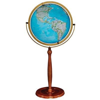 Replogle Chamberlin Illuminated Globe, 16-Inch Diameter