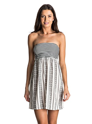 roxy-womens-crystal-light-tube-dress-anthracite-isabella-stripe-m