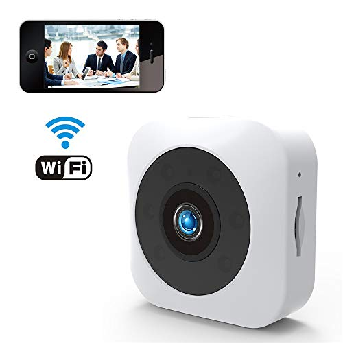 Cámara Oculta, cámara fotográfica de 1080P Mini, cámara sin Hilos de HD WiFi pequeña cámara de Interior de Seguridad...