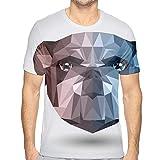 Summer Men T Shirt Street Style Animal Bulldog Printed Short Sleeve T-Shirt Casual Loose Tops Juniors Tees