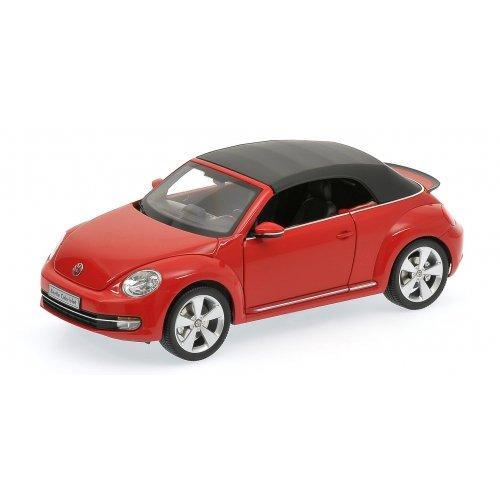 京商オリジナル 1/18 Volkswagen The Beetle コンバーチブル 2013 (トルネード レッド) 完成品 B00AZC8QAE