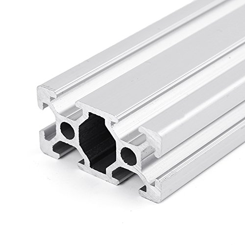 Farwind 2040 T-Slot Aluminum Profiles Extrusion Frame 500mm Length For CNC 3D Printers Stands Furniture