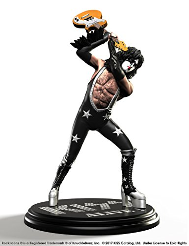 Knucklebonz KISS Limited Edition Collectible Statue - Alive The Starchild Rock Iconz, Officially Licensed by KISS, Includes CoA ()