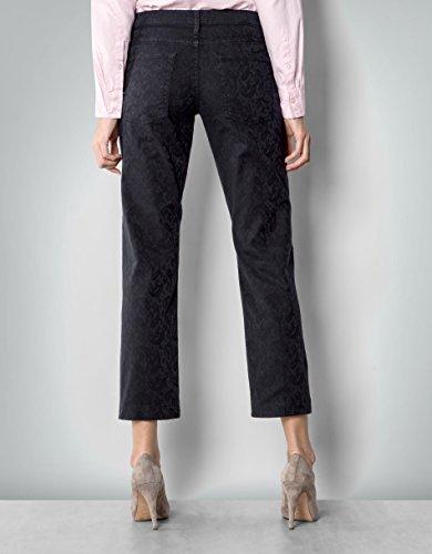 Gant Damen Hose Baumwolle Pant Unifarben, Größe: 28, Farbe: Schwarz
