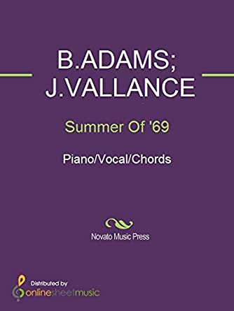 Summer Of 69 Kindle Edition By Bams Bryan Adams Jllance
