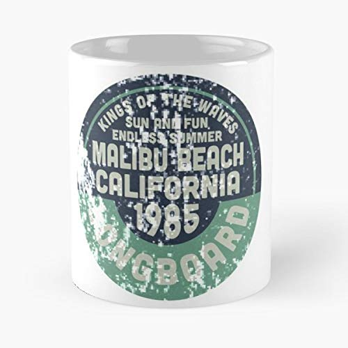Casual Beachwear Surf Lifestyle - 11 Oz White -coffee Mug- Unique Birthday Gift-the Best Gift For Holidays.