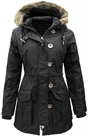 PARKA GIRLS New JACKET COAT HOODED Girls Padded CLOTHING AGE 7 8 9 10 11 12 13