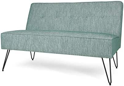 Christopher Knight Home Simona Modern Fabric Settee