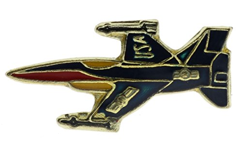 F-16 Blue Navy Fighter Jet Plane 1 Inch Hat Lapel Pin (Plane Hat Pin)