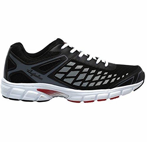 AUSTRALIAN , Chaussures de course pour homme Noir Nero