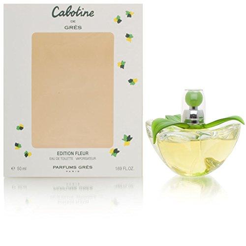 (Cabotine by Gres for Women 1.69 oz Eau de Toilette Spray 2000 Fleur Limited Edition )