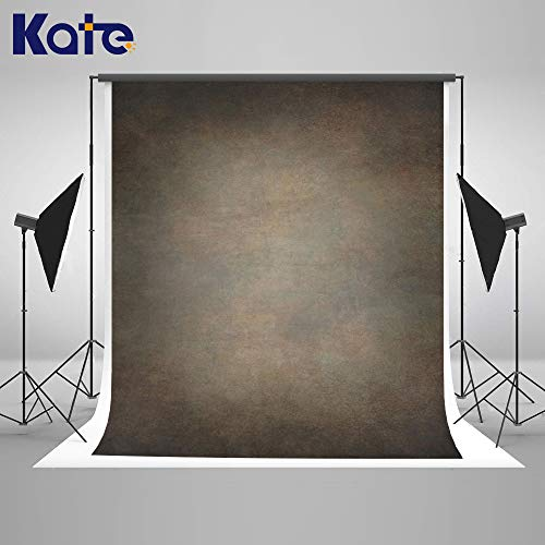 Kate 8×8ft Seamless Retro Art Moss Green Brown Portrait Video Backdrop Abstract Muslin Fabric Photo Background Studio Prop Cotton Cloth Remove Wrinkles