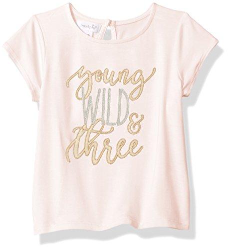 Mud Pie Baby Girls' Birthday Top, Wild, 3 Toddler