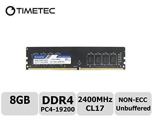 Timetec Hynix IC 8GB DDR4 2400MHz PC4-19200 Non ECC Unbuffer