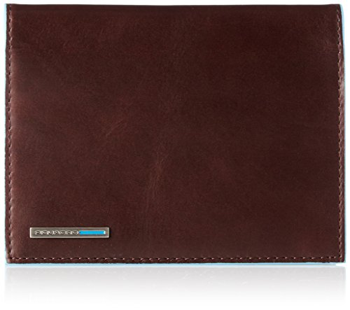 Piquadro Passport Holder, Mahogany, One Size by Piquadro