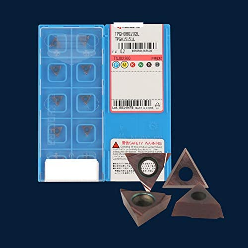 10Pcs Gaobey TPGH080202L TPGH15151L PR930 CNC Carbide Inserts