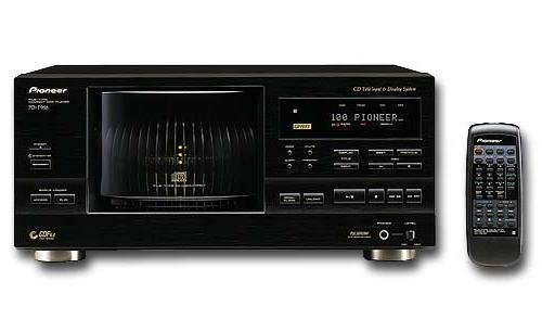 (Pioneer PD-F958 101-CD Changer (Discontinued by)