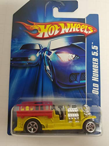 Old Number 5.5 No. 191 Alt Package Hot Wheels 2006 1/64 scale diecast car